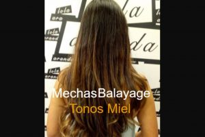 Mechas Balayage Tonos Miel www.peluqueriasdemadrid.es