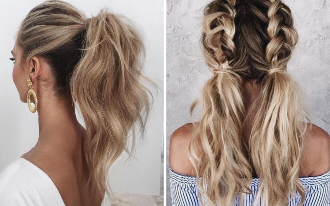 Peinados cabello con mucho volumen