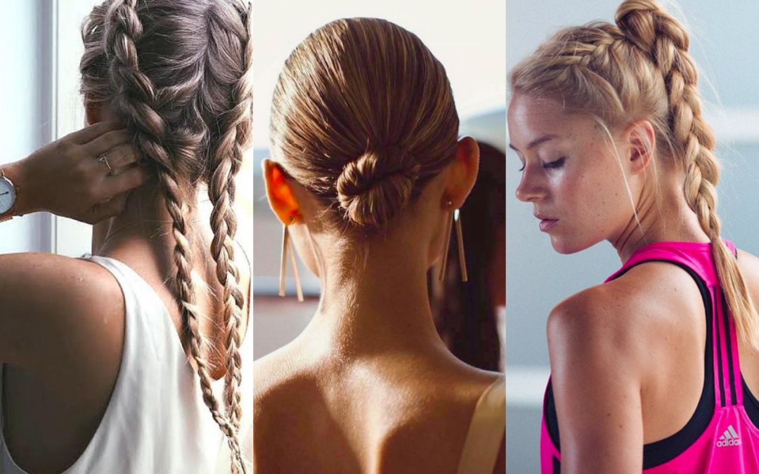 Peinados para ir perfecta al gimnasio.